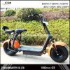 Motocicleta elétrica das rodas dos Cocos 2 da cidade do E-trotinette, trotinette elétrico adulto 62V/72V 20ah da cidade 1000W