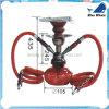 Cachimba del tabaco para fumar con color rojo