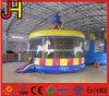 Carrossel inflável gigante inflável de salto do castelo do carrossel