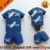 스포츠 선물 (YT-JB)를 위한 PVC 축구 t-셔츠 USB 카드