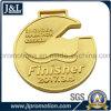 光沢がある金張りの顧客デザインメダルよい価格