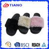 Pistone esterno impermeabile superiore del PVC di Flatform della pelliccia ultramorbida alto (TNK35734)