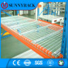 Decking galvanizado armazenamento do engranzamento de fio do armazém da alta qualidade