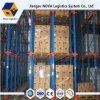 倉庫の記憶のためのパレットラックの頑丈な高密度駆動機構