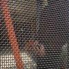 Acoplamiento de alambre a prueba de balas de la pantalla de la ventana de la seguridad del acero inoxidable, pantalla del mosquito