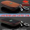ランドローバー車のロゴの本革のキーケース