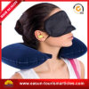 Palier gonflable réglé de collet de Pilow de course avec Eyemask et boules quies