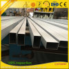 Extrudé 6061 6063 Aluminum Rectangular Circular Structral Hollow Sections