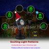 Luz de Natal ao ar livre do floco de neve estrelado do Xmas da iluminação da estrela do laser com de controle remoto