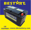 Сухой элемент 12V 100ah Mini Bus Car Battery Sealed Mf Car Battery