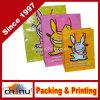Bolso de compras impreso aduana del papel de Kraft con la impresión de la insignia (3235)