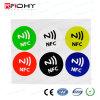Collant illimité de l'IDENTIFICATION RF NFC de choix de couleurs pour des medias sociaux