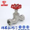 Type robinet d'arrêt sphérique de l'acier inoxydable S