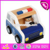 New Design Children Funny Wooden Toy Police Cars W04A337