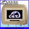 Exhibición de pantalla de monitor del apoyo para la cabeza TFT LCD del monitor del coche, botón del tacto (H703AVT)