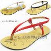 2014 Summer Fashion PU Ladies Flat Heel Sandals Shoes (A111200860)