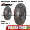 4 Inch Pneumatic Shopping Trolley Rubber Wheels