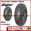 Piccole rotelle pneumatiche della gomma del carrello di acquisto