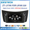 Автомобильный радиоприемник DVD 2 DIN GPS для игрока мультимедиа Lifan 320