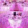 Cube en plastique Wedding en modèle DEL de la vente en gros 80cm pour le Tableau