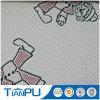 Nuovo materasso 100% del tessuto delle coperture del jacquard del poliestere di disegno del reticolo del fumetto