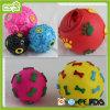 Brinquedo encantador da esfera do vinil do cão do animal de estimação