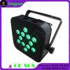 Luz lisa do diodo emissor de luz da bateria com iluminação de controle remoto do diodo emissor de luz do rádio