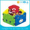 Крытая игрушка младенца загородки цвета игрушек пластмассы