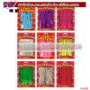 Approvisionnements de décorations de mariage d'anniversaire de tresse de rideau en porte d'usager de clinquant (P4098)