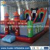 Karikatur-aufblasbares Prahler-Schloss mit Plättchen, aufblasbares springendes Schloss für Verkauf