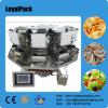 Pesador principal de Multihead de la ensalada del equipo de pesaje 10 automáticos