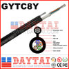 Gytc8y Outdoor Self-Supporting Fibra Optical Fig8 Cable com Messenger