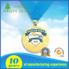Design Custom Metal Crafts Zinc Alloy Gold Award Médaille du sport