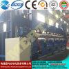 Máquina de rolamento simétrica hidráulica da placa de três rolos Mclw11nc-25*9000, máquina de dobra