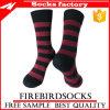 Bunte Streifen-Socke mit kundenspezifischen Socken
