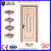 Porte en bois en verre intérieure pour la salle de bains