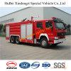 пожарная машина Euro2 порошка 10ton Sinotruk сухая