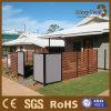 Frontière de sécurité en bois composée de l'écran WPC de fournisseur de la Chine pour le marché de l'Australie