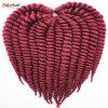 100%年のKanekalonのジャンボブレードの総合的な毛の拡張ハバナのマンボのねじれのかぎ針編みの毛のブレードLbh 113
