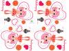 Etiquetas de la impresión del traspaso térmico para la ropa de la muchacha