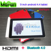 Billig 9 Inch Tablet mit Bluetooth HDMI Port/Mapan Android 4.4 Tablet 9 Inch