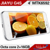 Android 4.2.2 Mtk6592, Cortex A7 Octa Core, 1.7GHz; GPU: Мобильный телефон Mali-450