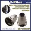 33mm schwerer LKW-Chrom ABS dekorativer Deckel-Rad-Ordnungs-Flansch-Art-Öse-Mutteren-Deckel-Purpur-Reflektoren