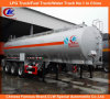 Tri-Axle 6 résistants Compartments Oil Tank Trailer 42000liters Fuel Tank Semi Trailer pour la Tanzanie