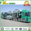 Acoplado de elevación hidráulico del coche del transporte de 8 coches que carga