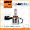 Diodo emissor de luz Head Lamp do diodo emissor de luz Headlight Bulbs 6000k 2000lm Vehicle de H11 Car com CE