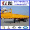 3 de Semi Aanhangwagen van de Zijwand van de Aanhangwagen van de as 40FT