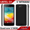 Het beste verkoopt 5 Duim van Androïde 4.3 Mtk6592 de Mobiele Telefoon 8 van de Kern (Q1)
