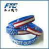 Wristband di gomma del silicone per la promozione