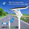 Lumière solaire de route du réverbère de Bluesmart DEL 50W pour l'Afrique